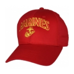 Marines Cap with EGA (Red)