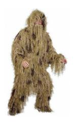 5 Piece Adult Ghillie Suit - Desert