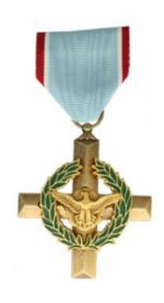Air Force Cross Medal (Full Size)