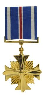 Distinguished Flying Cross Anodized Medal (Full Size)