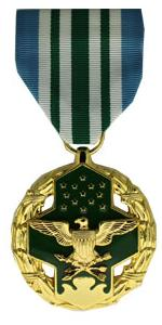 Joint Service Commendation Anodized Medal (Full Size)