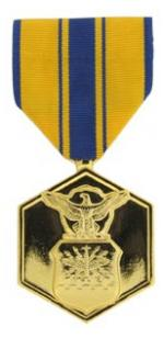 Air Force Commendation Anodized Medal (Full Size)
