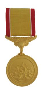 Gold Lifesaving Medal (Full Size)