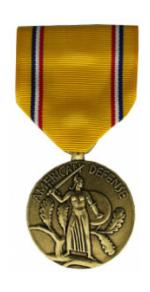 American Defense Medal (Full Size)