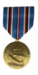 American Campaign Medal (Full Size)