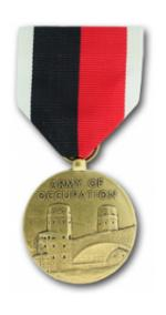 WWII Army of Occupation Medal (Full Size)