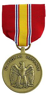 National Defense Service Medal (Full Size)