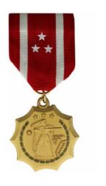 Philippine Defense Medal (Full Size)