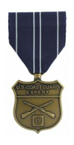 Coast Guard Expert Rifle Medal