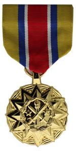Army National Guard Achievment Anodized Medal (Full Size)