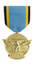 Aerial Achievement Anodized Medal (Full Size)