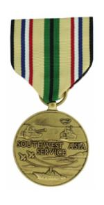 Southwest Asia Service Medal (Full Size)