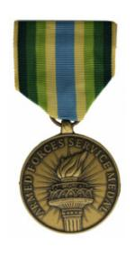 Armed Forces Service Medal (Full Size)