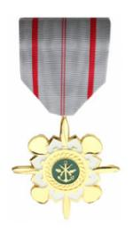 Vietnam Technical Service Medal 1st. Class (Full Size Medal)