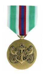 Merchant Marine Expeditionary Medal (Full Size)