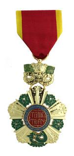 Vietnam National Order 5th. Class (Full Size Medal)