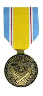 ROK Korean War Service (Full Size Medal)