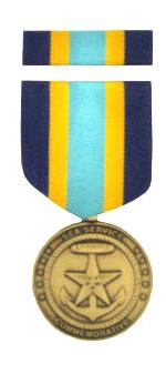 Sea Service Commemorative Medal & Ribbon