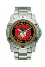 Military Logo Watches (USMC)