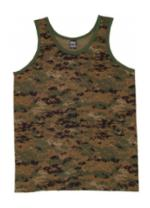 Tank Top (Digital Woodland Camo)