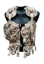 Tactical Assault Vest (Digital Desert)