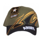 Army Star Cap (O.D. / Black)