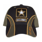Army Cap (O.D. / Black)