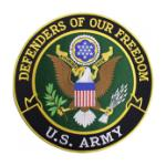 Defenders of Freedom US Army(Back Patch)