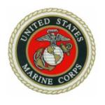 Marine Corps Seal Outside Window Decal