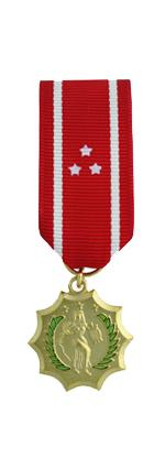 Philippine Defense Medal (Miniature Size)
