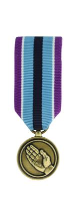 Humanitarian Service Medal (Miniature Size)