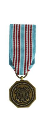 Coast Guard Medal (Miniature Size)