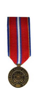 Coast Guard Reserve Good Conduct Medal (Miniature Size)