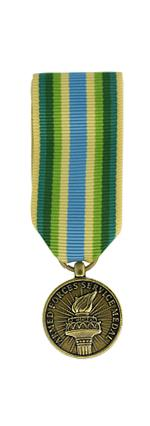 Armed Forces Service Medal (Miniature Size)
