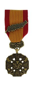 Republic of Vietnam Gallantry Cross Medal (Miniature Size)