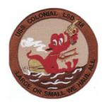 USS Colonial LSD-18 Ship Patch
