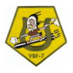 Navy Bomber - Fighter Squadron VBF-7 Patch