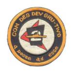 Commander Destroyer Development Group COMDESDEVGRU 2 Patch