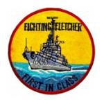 USS Fletcher DD-445 Ship Patch