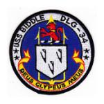 USS Biddle DLG-34 Ship Patch