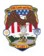 Navy Auxiliary Cargo and Ammunition Ship Patches (T-AKE, T-AGM)