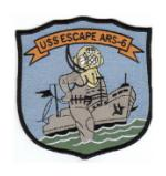USS Escape ARS-6 Patch