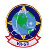 Navy Fleet Logistics Support Squadron Patch VR-52