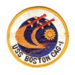 Navy Carrier Air Group USS Boston CAG-1 Patch