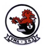 Marine Attack Squadron VMA-343 Patch