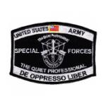Special Forces MOS Patch