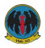 Marine Attack Squadron VMA-322 Patch