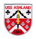 USS Ashland LSD-1 Ship Patch