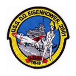 USS Dwight D. Eisenhower CVN-69Ship  Patch