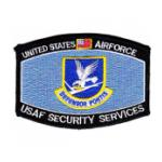 United States Air Force Security Services MOS Patch